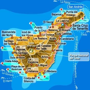 Spagna E Isole Canarie Cartina Geografica.Aprire Un Attivita A Tenerife Quanto Costa E Dove Cercare